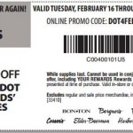 graphic about Bon Ton Printable Coupon referred to as carsons29 CouponPark Web site
