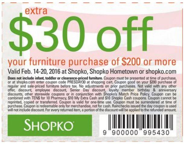 picture regarding Shopko 20 Off Printable Coupon identify shopko19 CouponPark Website