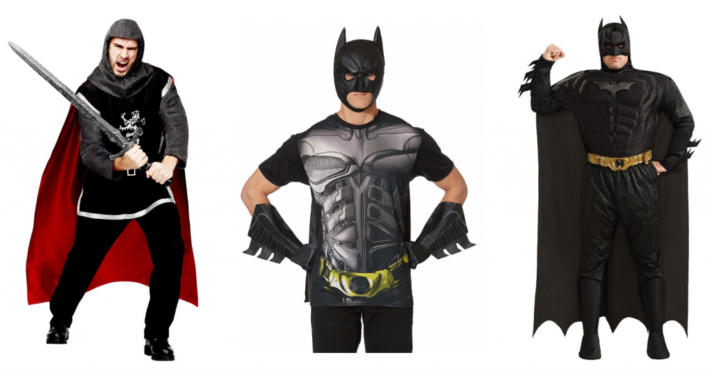 Halloween dark knight noble knight costume