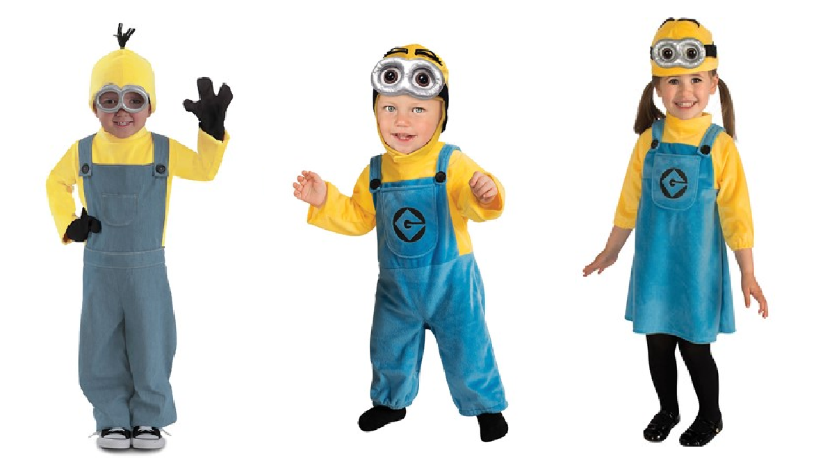 Halloween despicable me minion costume  sc 1 st  CouponPark & 7 Most Popular Halloween Costumes For Kids 2016 | CouponPark Blog