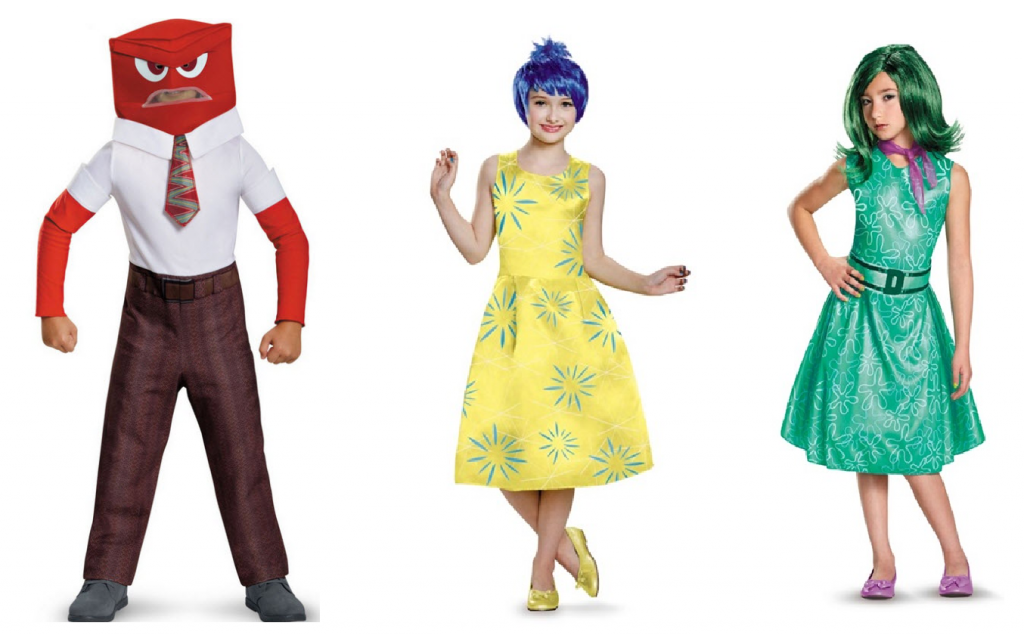 Halloween inside out joy costume